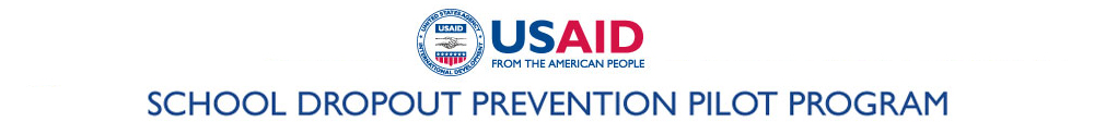 USAID School Dropout Prevention Pilot Program